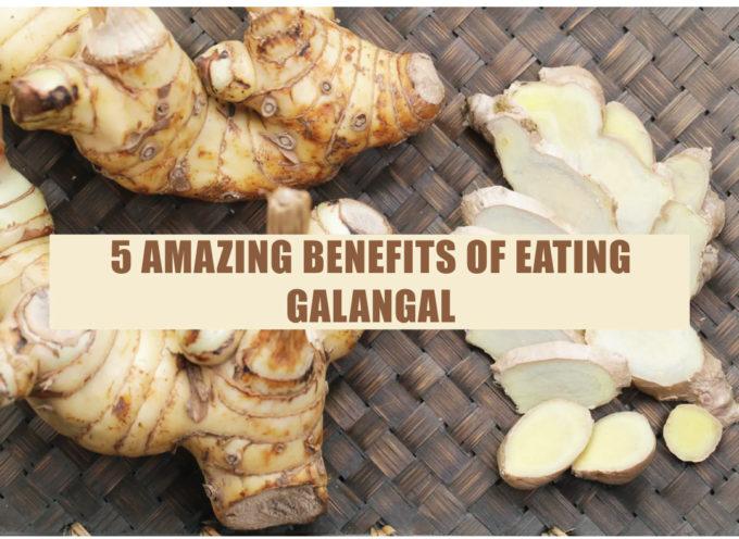 5 AMAZING BENEFITS OF EATING GALANGAL